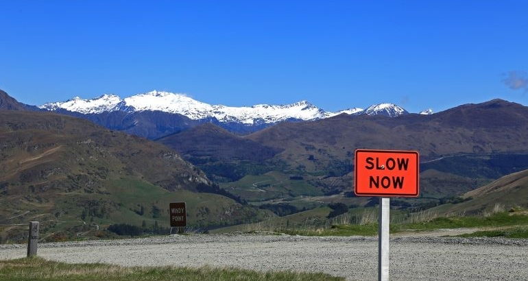 Do you need to SLOW DOWN?